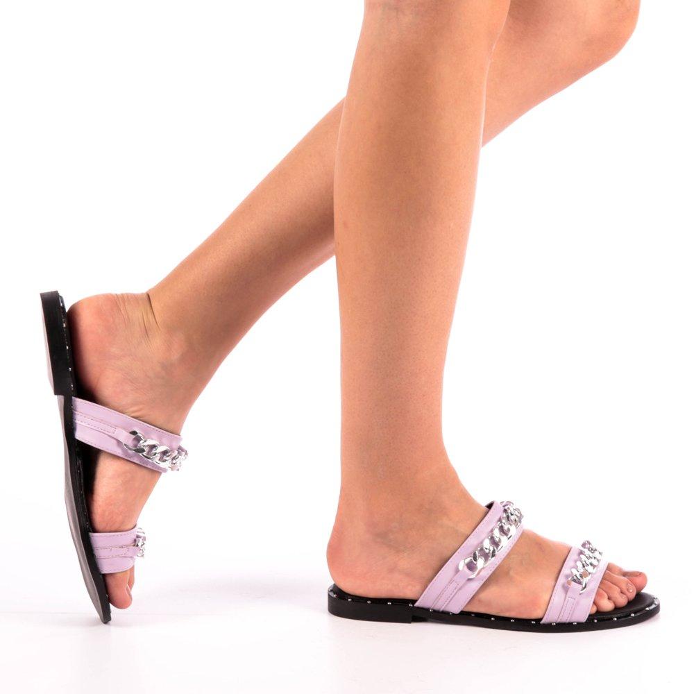 Papuci dama Daria mov